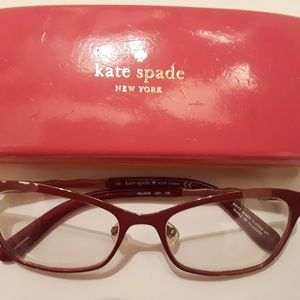 KATE SPADE♠️Reading lenses & case
